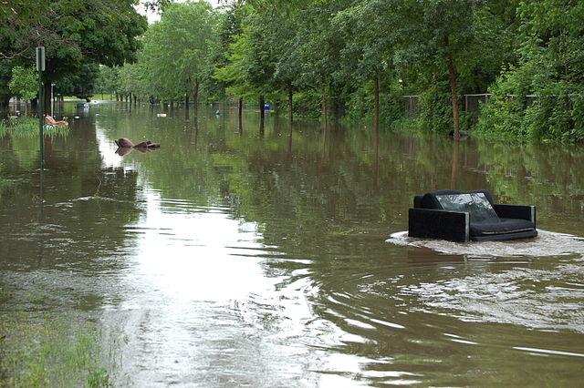 File Discarded furniture during Cedar Rapids flood 2008