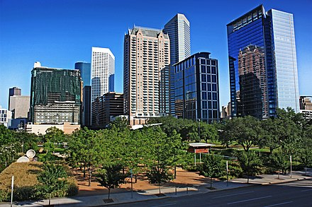 Discovery Green Park in Downtown Discovery green.JPG