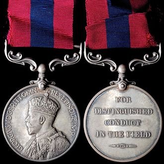 Distinguished Conduct Medal - King George V version 2