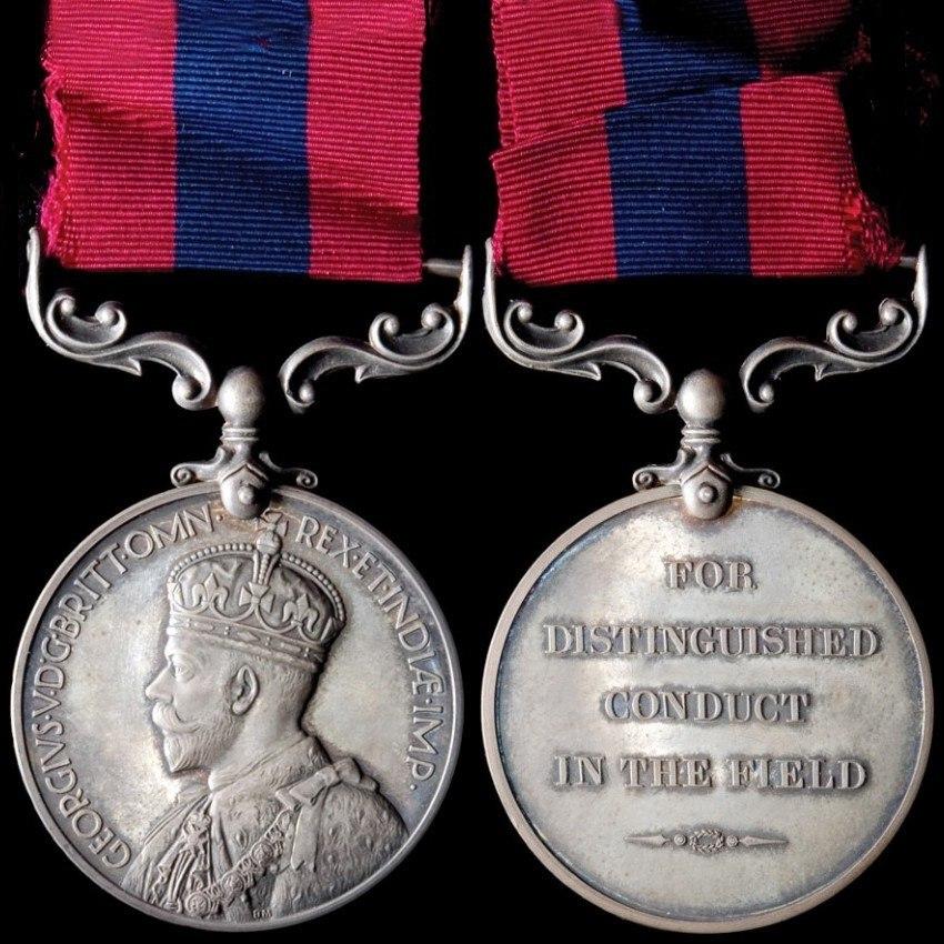 Distinguished Conduct Medal - George V v2