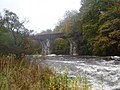 Disused rail bridge across the River Dochart - geograph.org.uk - 1210735.jpg