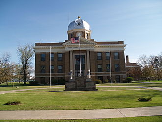 Divide County, North Dakota - Image: Divide County Courthouse