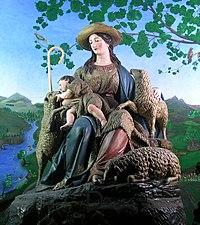 Imagen Divina Pastora de las Almas