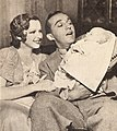 Dixie Lee with Bing Crosby and their first son Gary Crosby, 1933.jpg