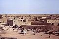 Djenné, Mopti, Mali. Vue de Djenné depuis le toit de la Grande Mosquée. Date du cliché 27-12-1972.jpg