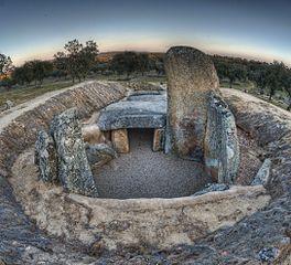 El dolmen de Lácara