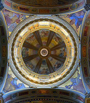 Dome of San Rocco all'Augusteo (Rome) HDR.jpg