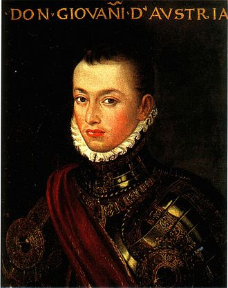 John of Austria attempted several times to relieve the siege, but in vain. Don Juan D Austria.jpg