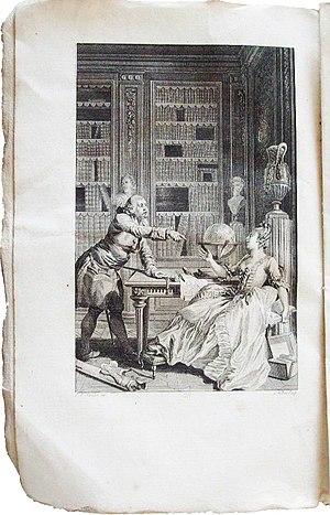 Claude Joseph Dorat - Image: Dorat les Prôneurs ou le Tartuffe littéraire frontispice EO Delalain 1777