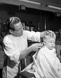 Getting A Haircut 90