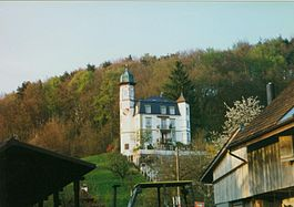 Dotzigen - Dotzigen Castle near the village