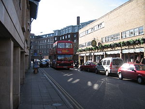 King Street, Cambridge - View of King Street.