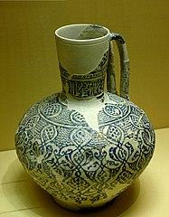 double-handled jug