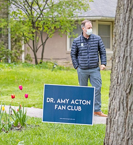 Amy Acton fan club