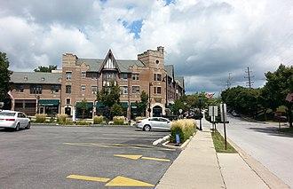 Flossmoor, Illinois - Image: Downtown Flossmoor