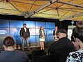 Dr Neil deGrasse Tyson and Ann Druyan in Sydney.JPG