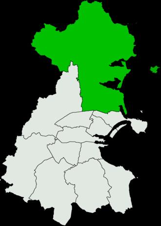 Dublin North (Dáil Éireann constituency) - Image: Dublin North Dáil Éireann constituency