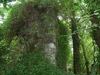 Kilmacolm - Remains of the 13th century Duchal Castle.