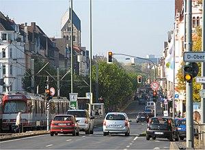 Düsseldorf-Oberkassel - Luegallee