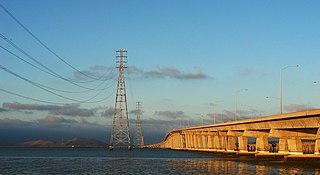 Dumbarton Bridge (California) Bridge in California, United States