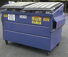Image result for dumpster