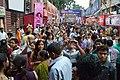 Durga Puja Spectators - Singhi Park - Ramani Chatterjee Road - Kolkata 2014-10-02 8978.JPG