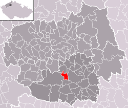 Location of Dušníky