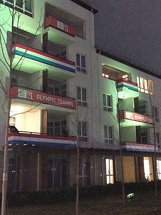 Netherlands at the 2014 Winter Olympics - Dutch accommodation in the Olympic Village