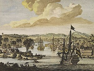 Chittagong - Dutch VOC ships in Chittagong, 1702