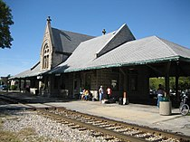 Dwight Il Dwight Chicago and Alton Railroad Depot3.JPG