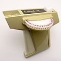 Dymo embossing label maker circa 1967.jpg