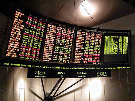 A ticker monitor simulates ticker tape but uses a different method. E-ticker.jpg