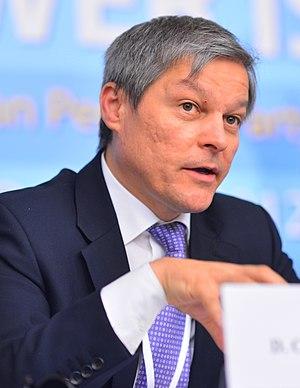 Dacian Cioloș - Image: EPP Congress 2187 (8096672652) (cropped)