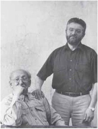 European University at Saint Petersburg - Boris Firsov (L) and Nikolai Vakhtin (R) wrote a very first draft of the Concept of EUSP in 1992