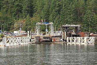Earls Cove, British Columbia - Earls Cove Ferry Terminal