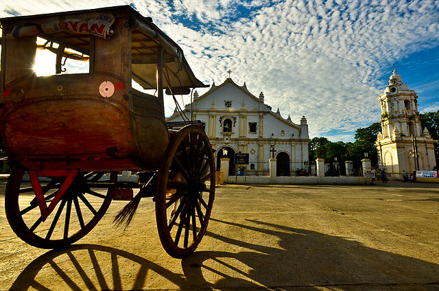 1st place: Early morning at the Vigan Cathedral, in Vigan, Ilocos Sur, by Jsinglador