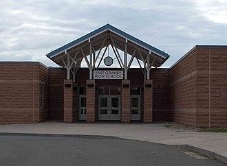 East Granby High School - Image: East Granby High School