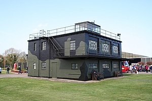 RAF East Kirkby - East Kirkby watchtower