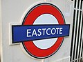 Eastcote station roundel.JPG