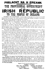 La proclamazione del 1916