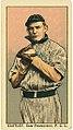 Eastley, San Francisco Team, baseball card portrait LCCN2008677334.jpg