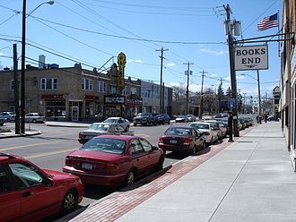 Eastwood, Syracuse, New York - James Street in Eastwood