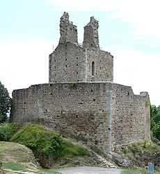 Ruins of the keep