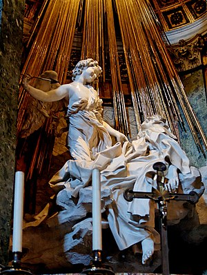The Ecstasy of St. Theresa by Gianlorenzo Bern...