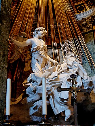Agape - The Ecstasy of St. Theresa, Gianlorenzo Bernini, 1652