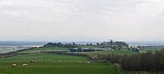 Timeline of Cheshire history - Eddisbury hill fort