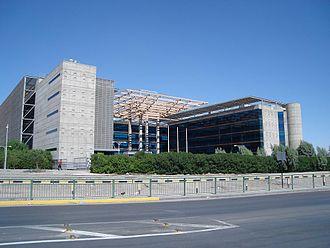 Calama, Chile - Image: Edificio Codelco Norte