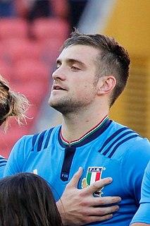 Edoardo Padovani Italian rugby union player