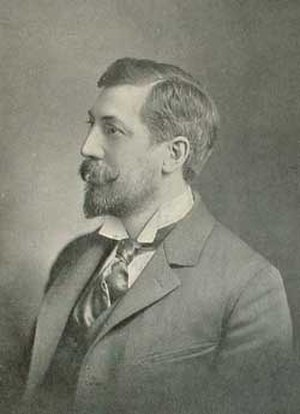 Edward Clark Potter - Photo of Edward Clark Potter in 1899.