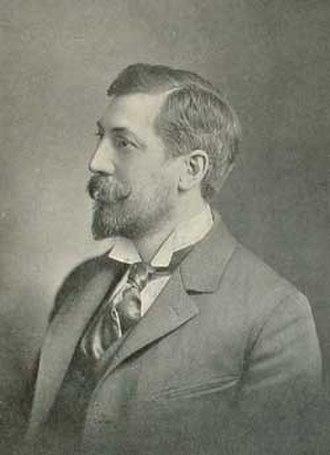 Edward Clark Potter - Photo of Edward Clark Potter in 1899.